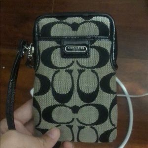Coach Leather Wallet (willing to negotiate price)